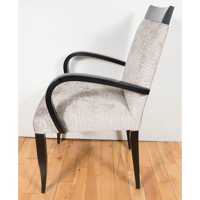 Donghia Mid-Century Modernist Bentwood Occasional or Desk Chair by Dakota Jackson For Sale - Image 4 of 7