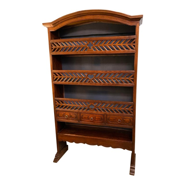 19th Century Antique French Bookcase For Sale