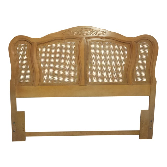 French Provincial Queen Size Headboard - Image 1 of 10