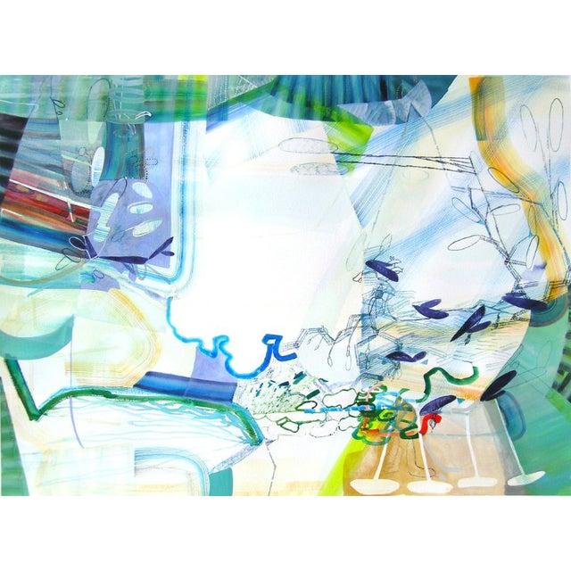 """Josette Urso """"Sea Whisper"""" Painting, 2018 For Sale"""