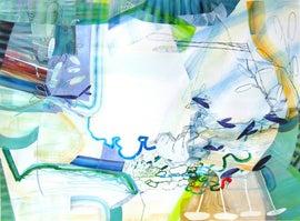 Image of Aqua Paintings