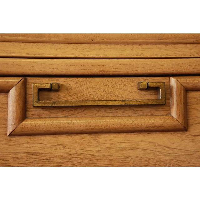 Merton Gershun Chinoiserie Highboy Dressers - Pair - Image 7 of 10