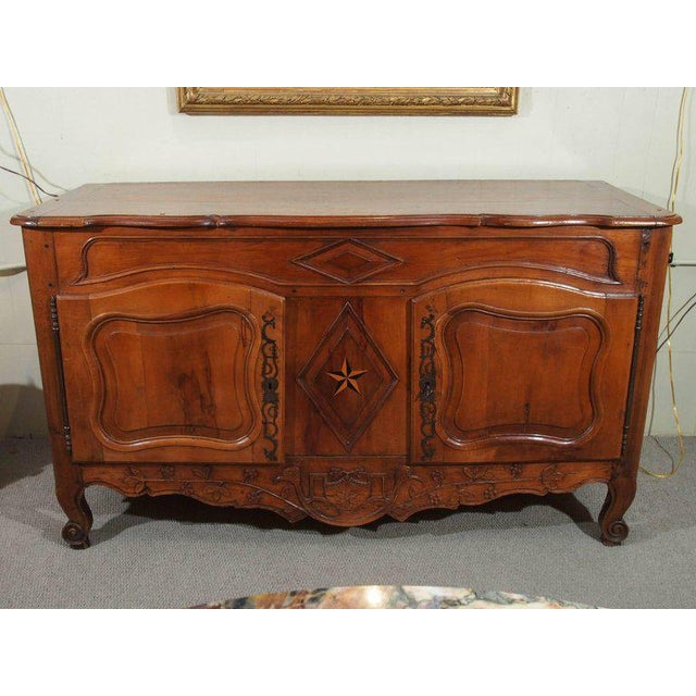 18th Century French Walnut Carved and Inlaid Sideboard, circa 1770 - Image 2 of 7