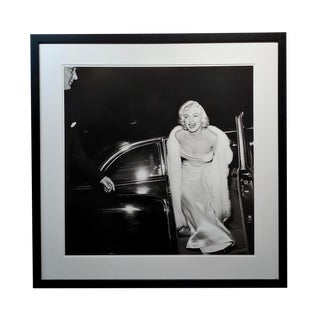 """Marilyn Monroe at 1954 Premier"" Large Silver Gelatin Photograph by Murray Garret For Sale"