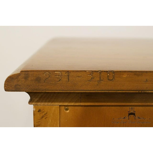 Late 20th Century Vintage Heritage Tuscan Italian Provincial Chest For Sale - Image 12 of 13