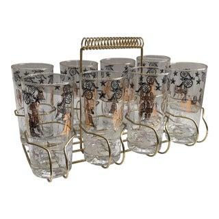 Vintage Civil War Bar Glasses For Sale