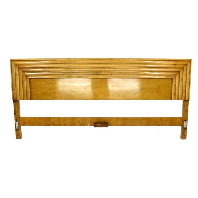 Edmond Spence Solid Birch Swedish King Size Headboard Bed For Sale - Image 9 of 11