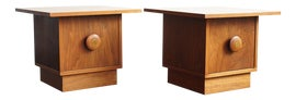Image of Brown Saltman Accent Tables