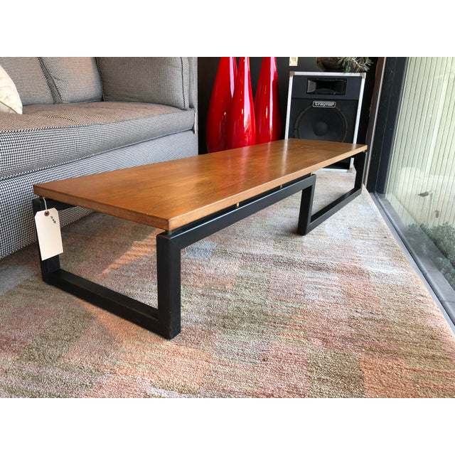 Michael Taylor for Baker Wooden Coffee Table - Image 3 of 6