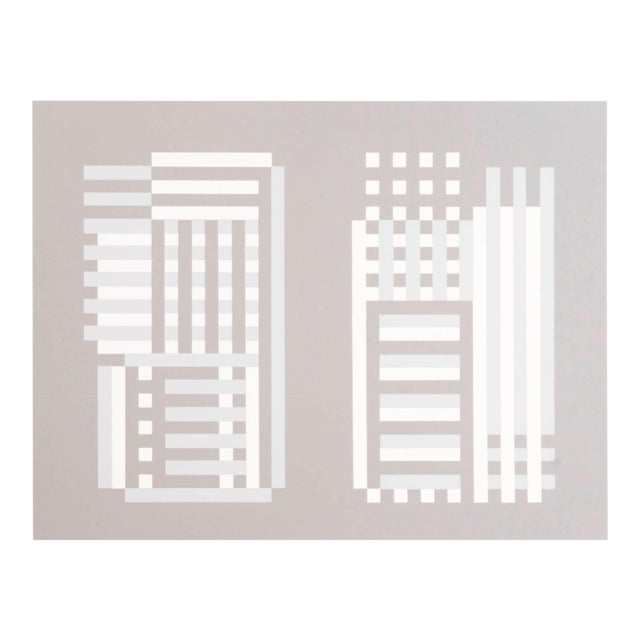 Josef Albers Silk Screen For Sale