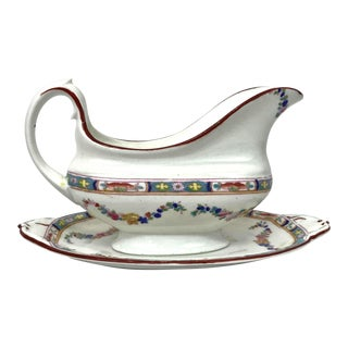 Antique English Gravy Boat