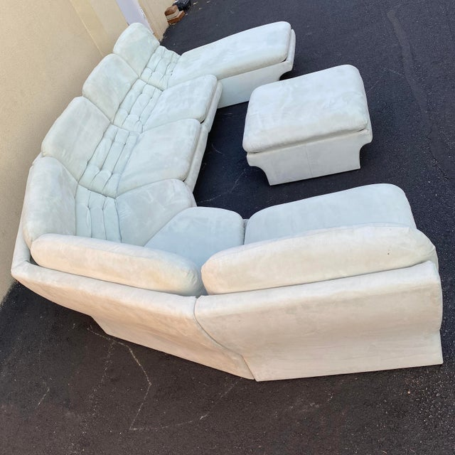 Vladimir Kagan for Preview 7 Piece Modular Sectional For Sale - Image 9 of 13