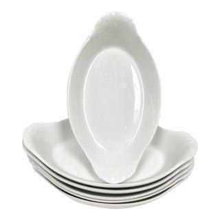 Pillivuyt French Porcelain Au Gratin Dishes - Set of 6 For Sale