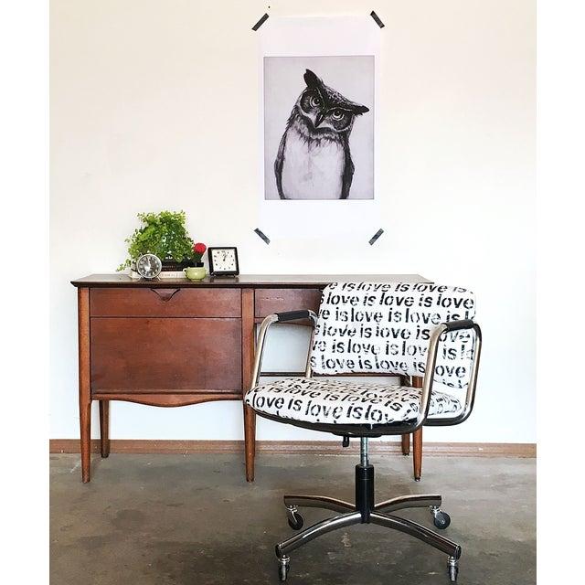 Mid-Century Custom Steelcase Office Chair - Image 4 of 7