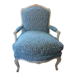 Single Louis XV Fauteuil For Sale