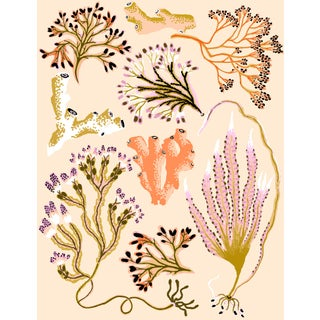 Seaweed Botanica (Sand) Giclee Print by Sarah Gordon For Sale