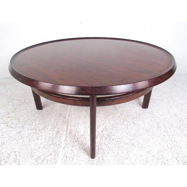 Bruksbo Vintage Scandinavian Rosewood Coffee Table by Haug Snekkeri for Bruksbo For Sale - Image 4 of 13
