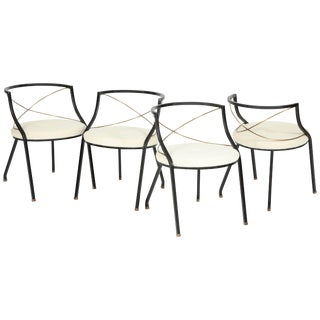 Maison Jansen Style Side Chairs For Sale