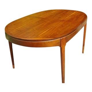 Lane Rhythm Mid-Century Modern Walnut Dining Table For Sale