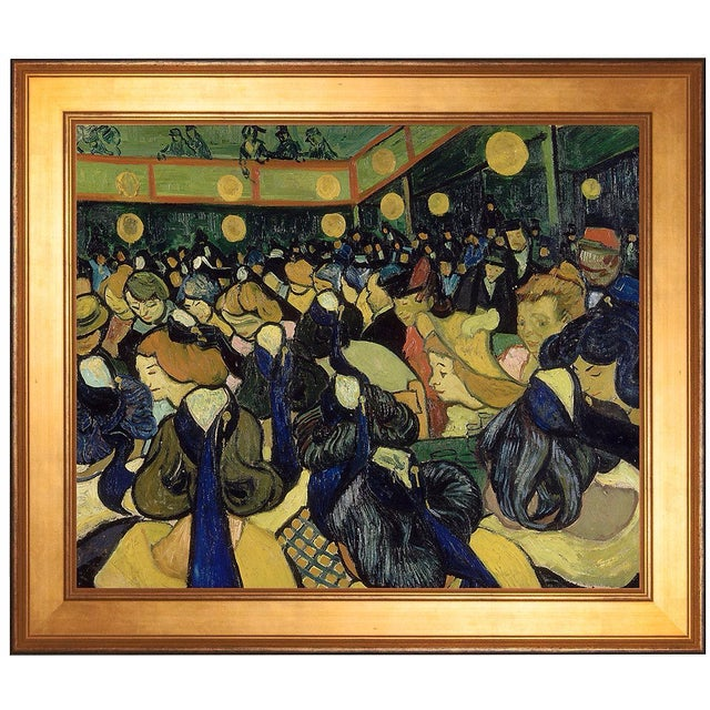 """The Dance Hall in Arles"" by Vincent van Gogh - Image 1 of 2"