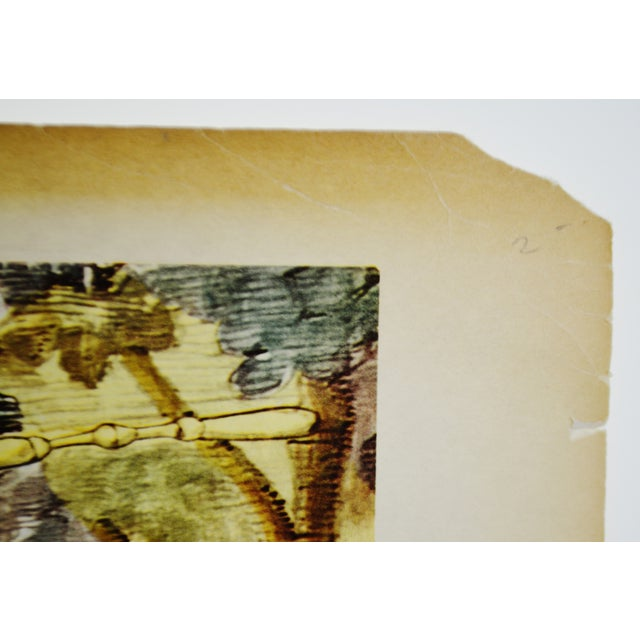"Tsuguharu Foujita ""Little Cavalier"" Mid-Century Print For Sale - Image 9 of 10"