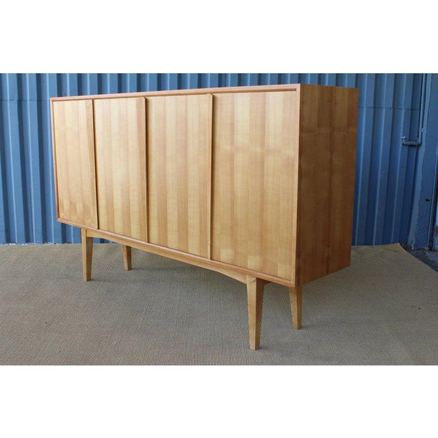 Maple Highboard Credenza, Germany, 1960s For Sale - Image 12 of 13