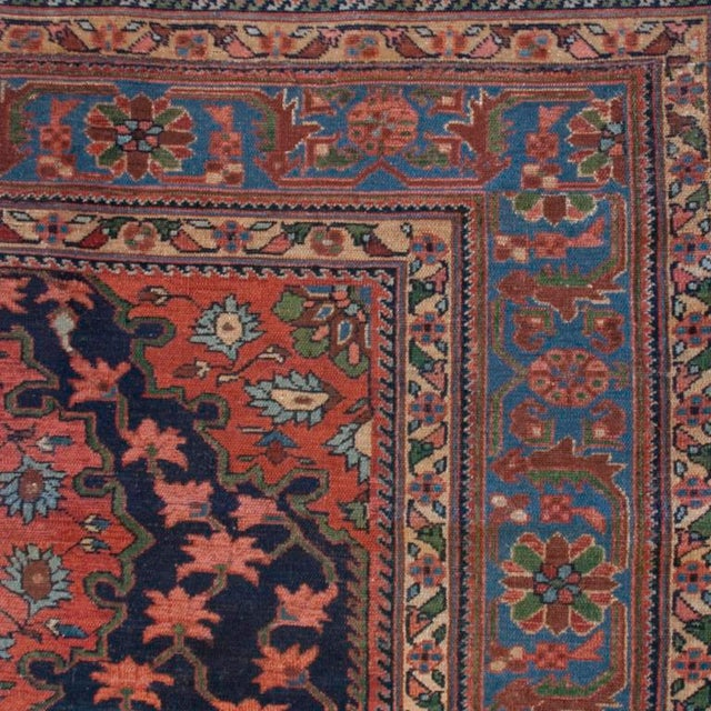 Islamic 19th Century Nahavand Carpet - 5′ × 6′5″ For Sale - Image 3 of 5
