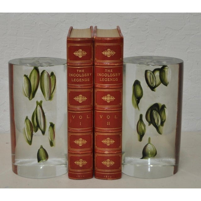 1960s Antonio Da Ros Hand Made Glass Sculptural Bookends For Sale In San Francisco - Image 6 of 6