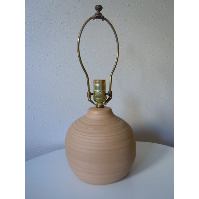 Martz Incised Table Lamp for Marshall Studios - Image 2 of 6