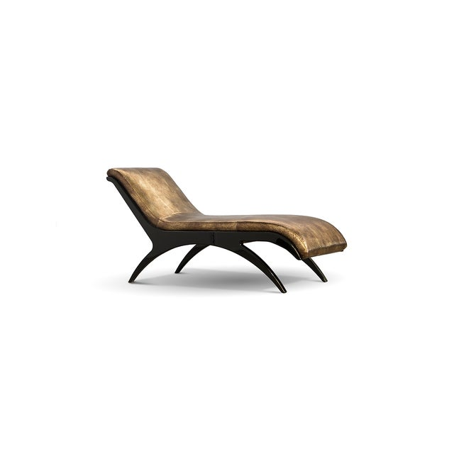 Zeba Chaise From Covet Paris For Sale - Image 4 of 4
