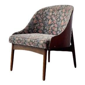 Mid Century Modern Kodawood Barrel Back Lounge Game Chair For Sale