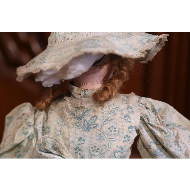 Ceramic Tall 19th Century French Porcelain Musical Automaton Jumeau Doll For Sale - Image 7 of 8