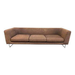 Cappellini Jasper Morrison Elan Three Seat Sofa For Sale