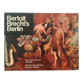 Bertolt Brecht's Berlin, Vintage 1st Edition Book For Sale