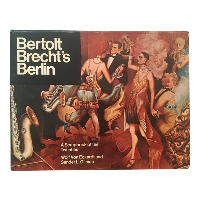 Bertolt Brecht's Berlin, Vintage 1st Edition Book For Sale
