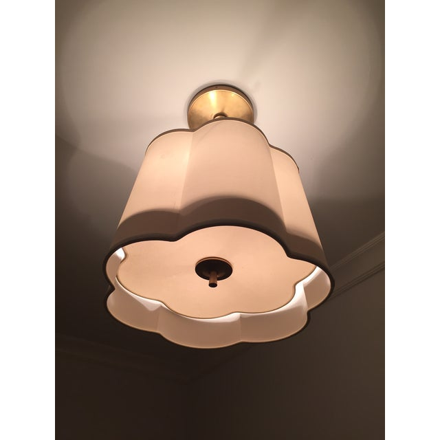 Contemporary Scallop Pendant Light by Circa Lighting For Sale - Image 3 of 3