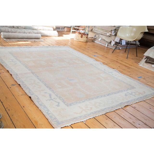 "Distressed Oushak Carpet - 5'9"" X 7'9"" - Image 5 of 7"