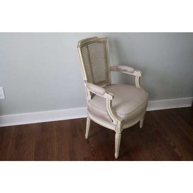 Antique French Caned Chair - Image 4 of 8