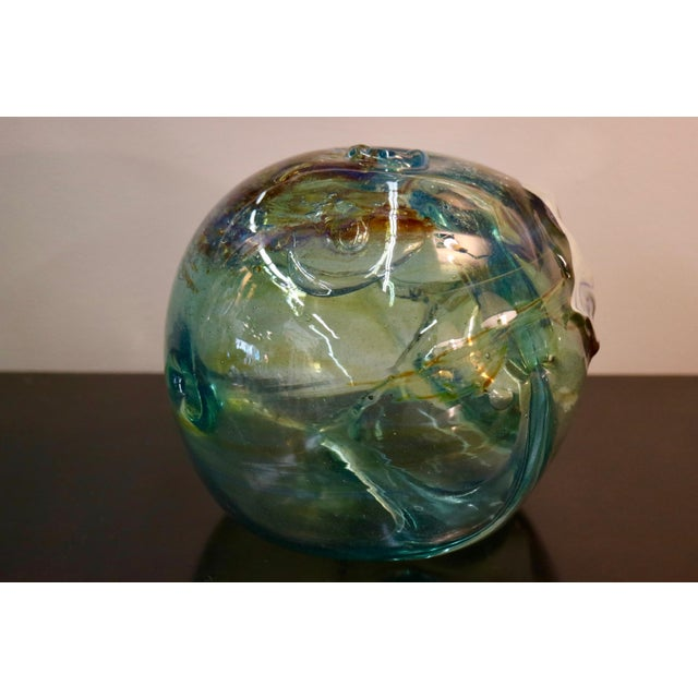 Signed 1970 Art Glass by Peter Bramhall - Image 4 of 7