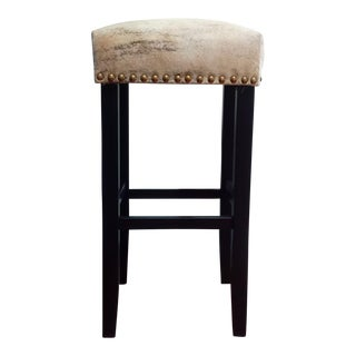 Gambrell Renard Cowhide Barstool For Sale