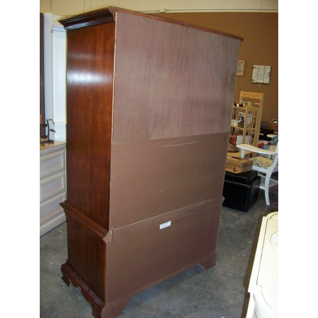 Thomasville Collectors Cherry Armoire - Image 5 of 11