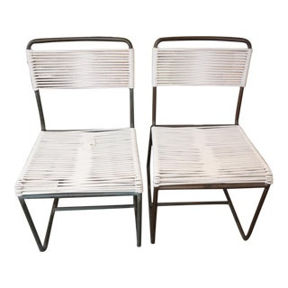 Two Side Chairs by Walter Lamb for Brown Jordan
