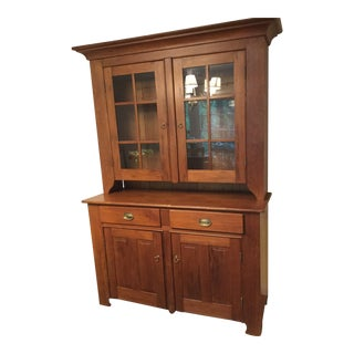 Antique Custom Crafts French Country Hutch