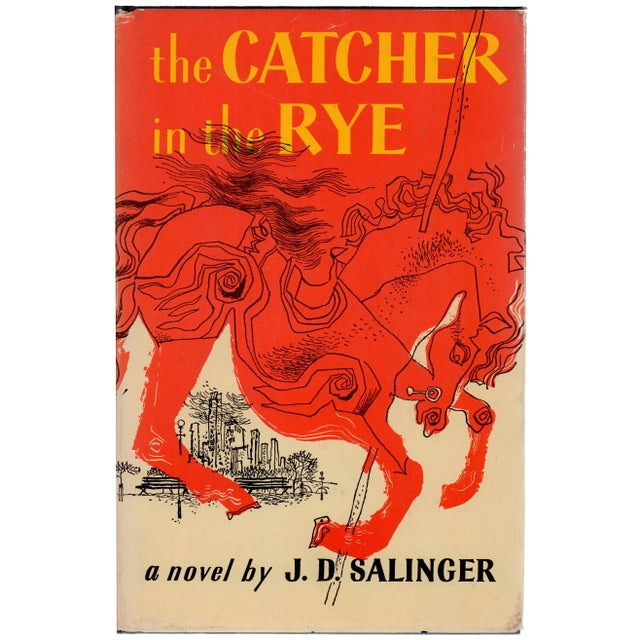 """1950s """"The Catcher in the Rye"""" Hardcover Book by J. D. Salinger - Image 1 of 3"""