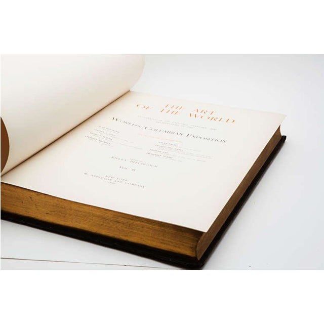 The two large folio volumes are designed by Stanford White, world-renown architect at the turn of the century. These...