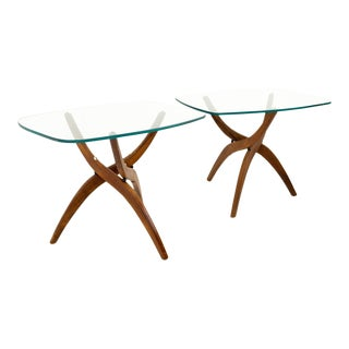 Mid Century Modern Forest Wilson Side Tables - a Pair For Sale