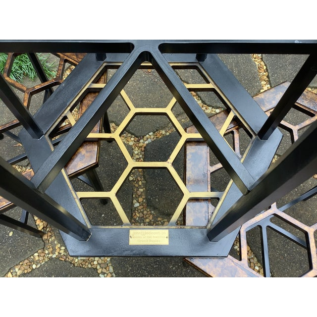 Widdicomb Honeycomb Tables, Set of 3 For Sale - Image 12 of 13