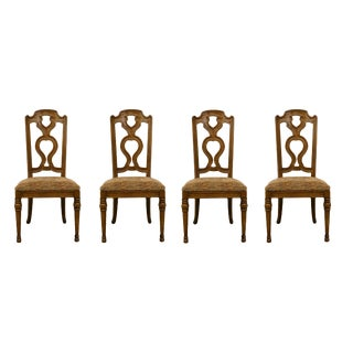 Drexel Heritage Spanish Revival Dining Side Chairs 183-810- Set of 4 For Sale