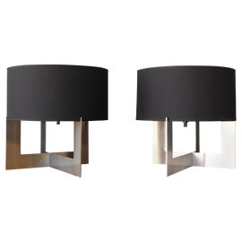 Image of Black Table Lamps