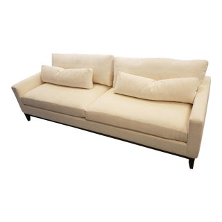 Modern Kravet Cream Sofa For Sale